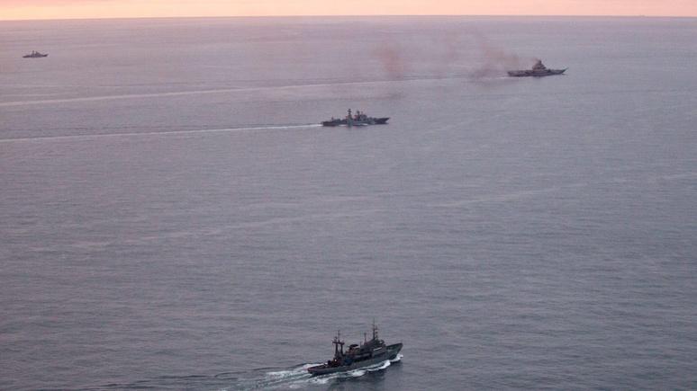 Independent: Россия направила корабли через Ла-Манш, чтобы «отвлечь внимание» Запада