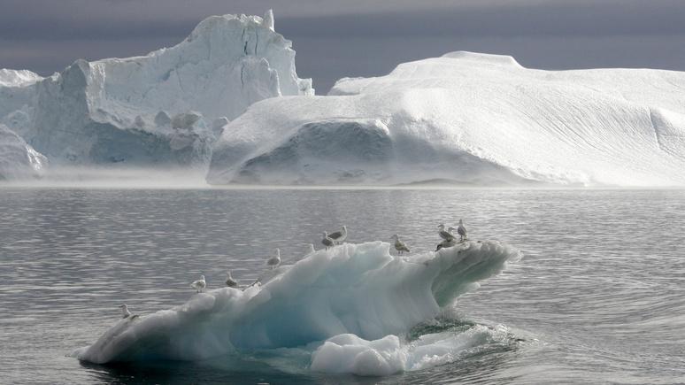 Tagesspiegel: Льды Арктики скрывают радиоактивное наследие армии США