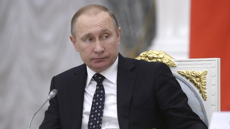 Mittelbayerische Zeitung: Путин неподобающе силен для слабой России