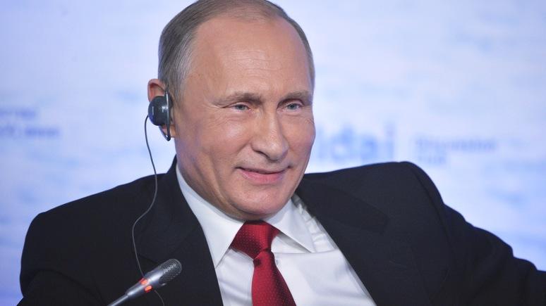Bloomberg: Благодаря «валдайской» утечке Путин предстал в новом свете