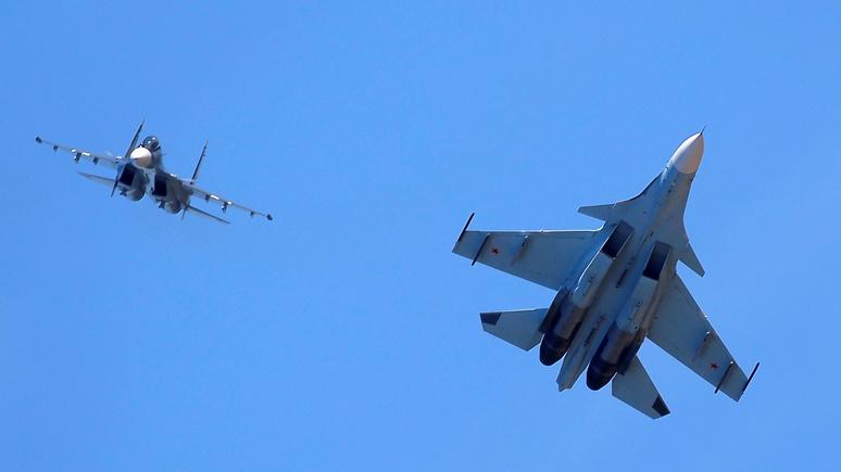 ABC: Российский истребитель облетел самолет коалиции в сирийском небе