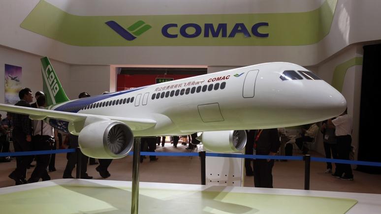 Bloomberg: Россия и Китай объединятся против тандема Airbus – Boeing