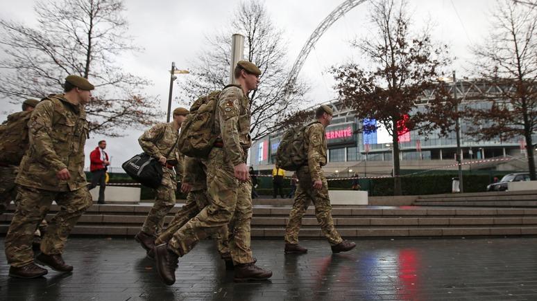 LSM: Британские солдаты избили латышей без помощи России