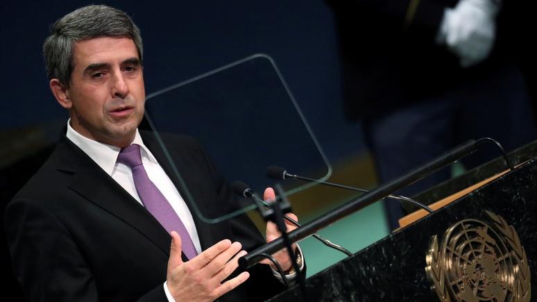 ВВС: Президент Болгарии призвал Европу объединиться против России