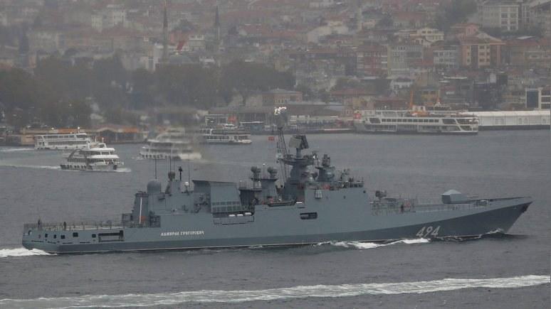 Guardian: «Адмирал Григорович» у берегов Сирии - плохие новости для Алеппо