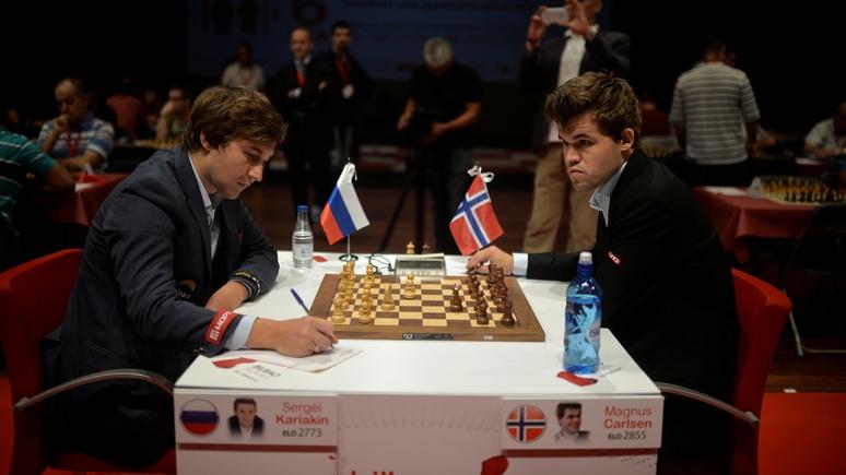 Daily Mail: «Шахматный король» из Норвегии испугался российских хакеров