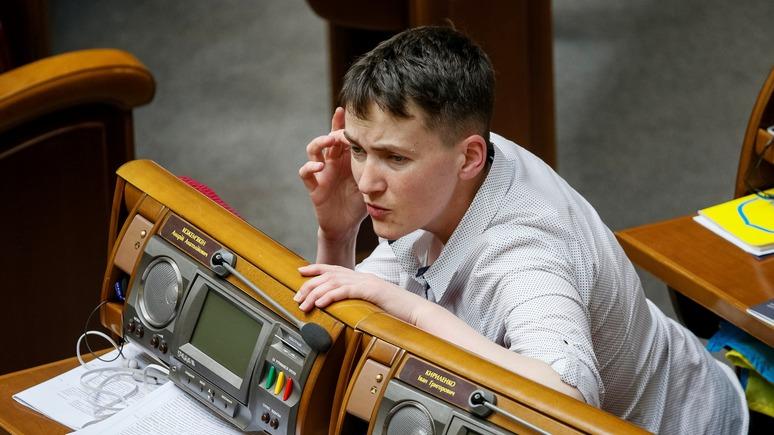 Савченко призвала россиян подняться с колен