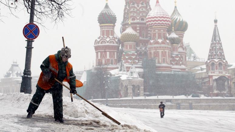 NZZ: Зима заставляет россиян ощущать кризис на каждом шагу