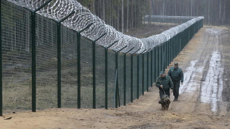 DELFI: Латвия укроется от Белоруссии и России за забором