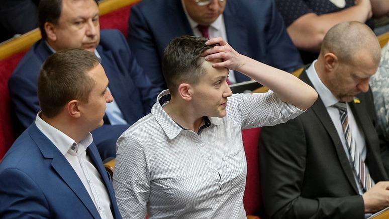 Обозреватель: Савченко могут наказать за баранов в Раде