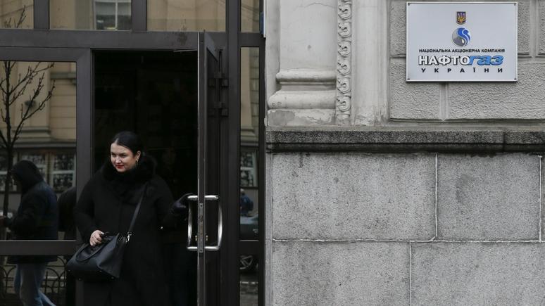 Bloomberg: «Нафтогаз» ведет в Twitter безответную войну с «Газпромом»