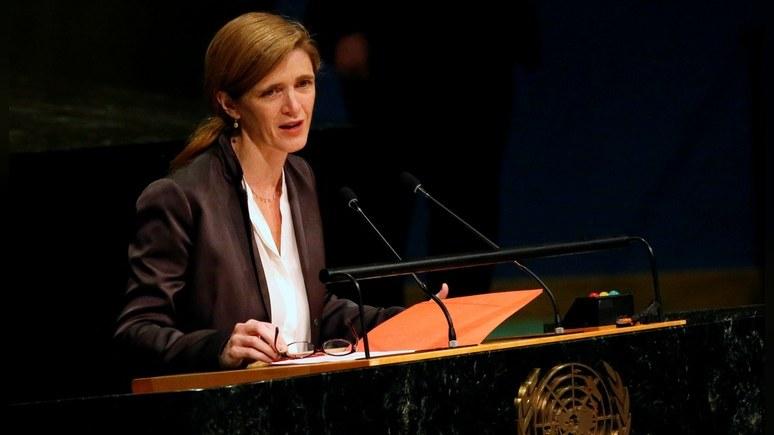 Business Insider: Постпред США при ООН обвинила Россию в «сирийском терроре»