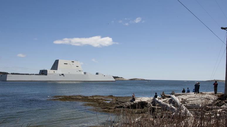 Stern: Коптящий «Кузнецов» утер нос «гордости американского флота»