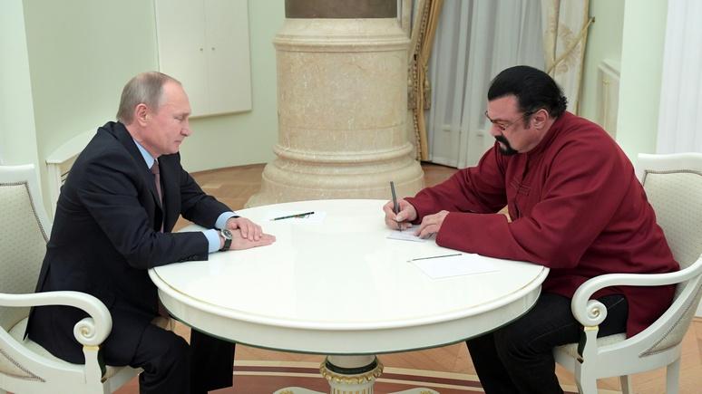 Washington Post: Дружбу Путина и Сигала скрепил российский паспорт