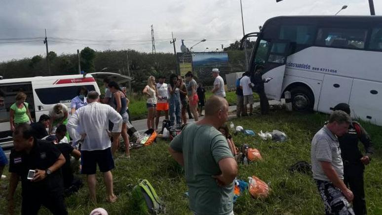 PG: В ДТП с российскими туристами в Таиланде виноваты отказавшие тормоза