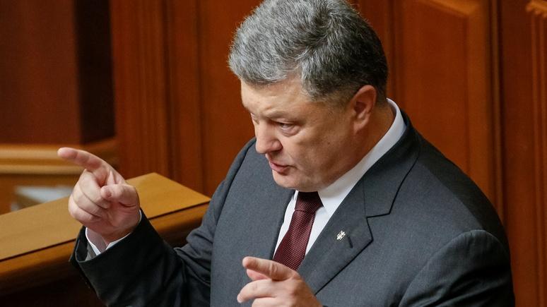 Порошенко: Украина сейчас воюет, чтобы «похоронить Советский Союз»