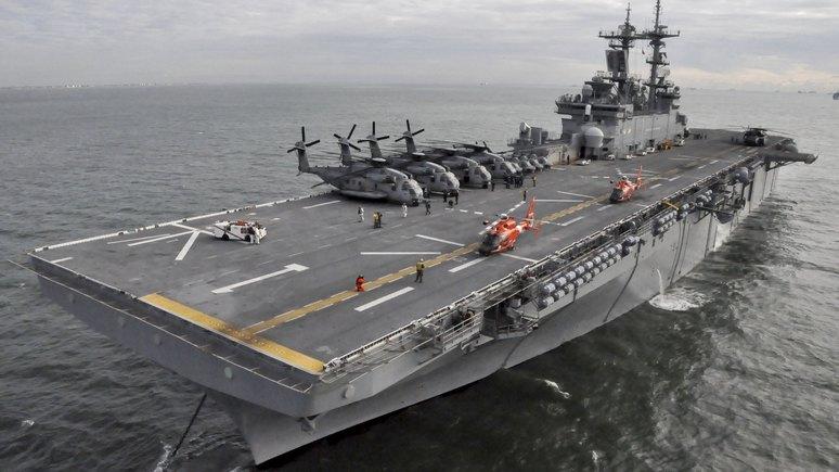 Daily Express: В Средиземном море русским и американцам стало тесно