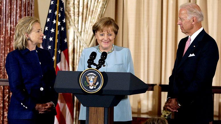CM: Меркель и компания достойно продолжат «русофобскую» эстафету Клинтон