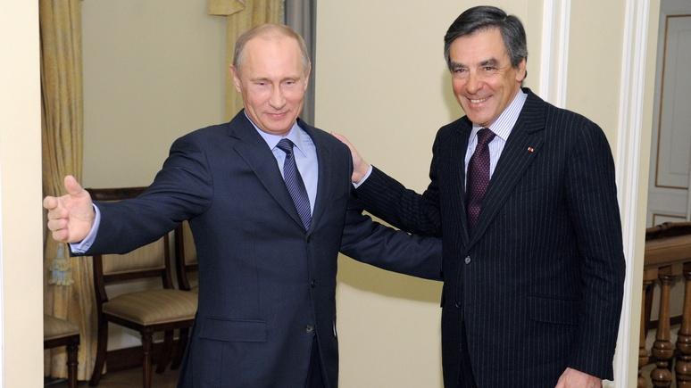 Politico рассказал, куда Францию заведет руссофильство Фийона