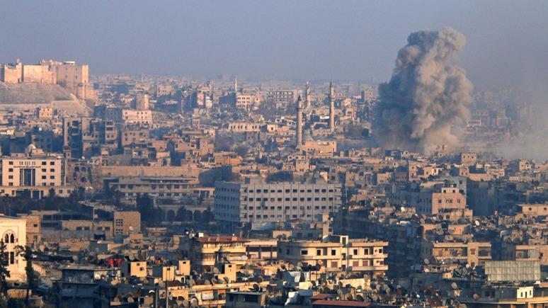Wall Street Journal увидел «крайний цинизм» Москвы в захвате Алеппо и потере Пальмиры