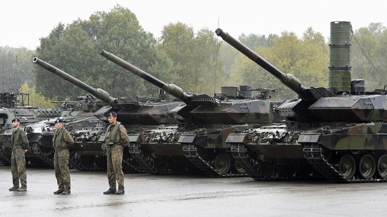 N-TV: Для устрашения России Литва получит танки от бундесвера