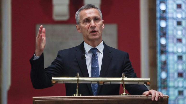 Столтенберг: Военное вмешательство НАТО только ухудшило бы ситуацию в Сирии