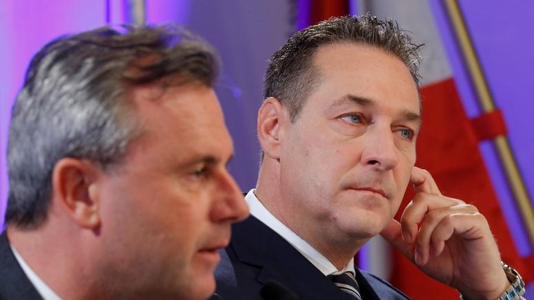 Standard: «Агенты Кремля» в Австрии сменили фланг, но никуда не делись