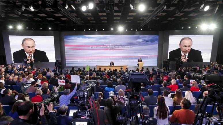 Bloomberg: Весь мир ждет Санта-Клауса, а россияне – пресс-конференцию Путина