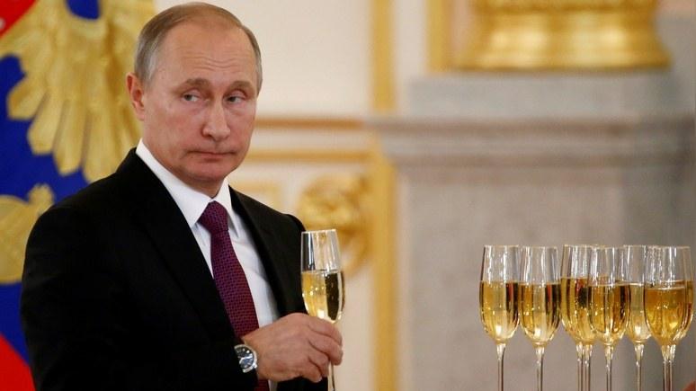 Bloomberg: «Путин – если не человек года, то уж точно тролль года»