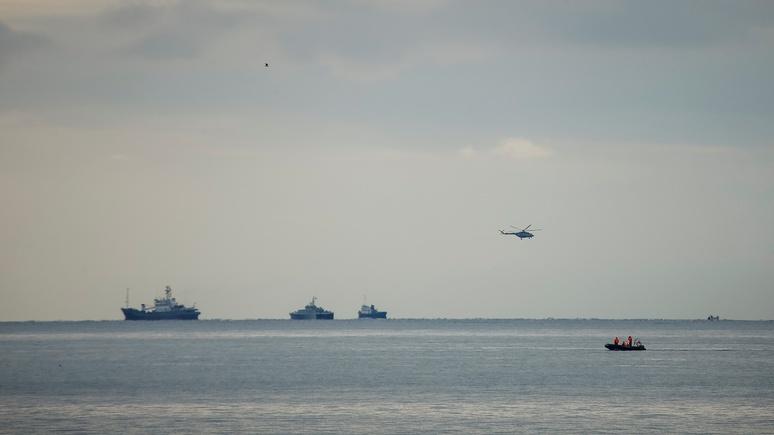 Die Zeit: В Черном море найдены обломки разбившегося российского самолета