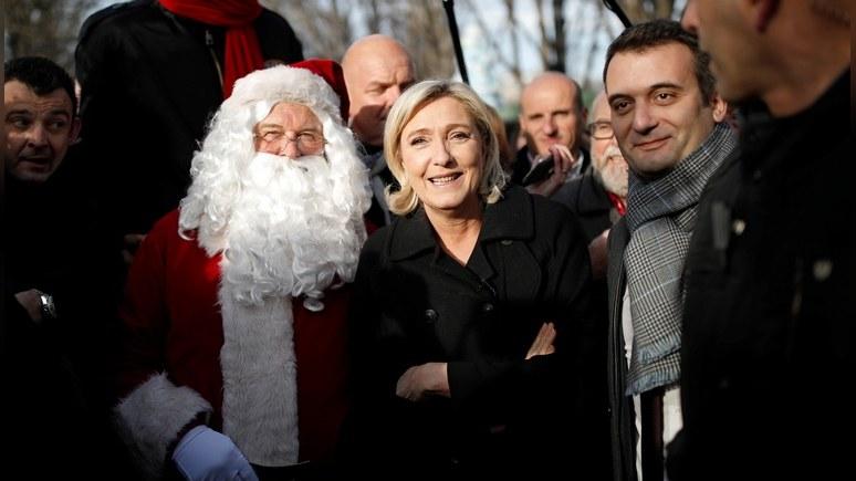 Daily Express: Ле Пен пообещала покончить с господством Брюсселя в Европе