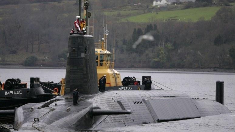 DM: Флот Путина заставил Лондон опасаться за свои атомные подлодки