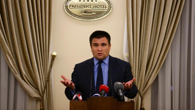 112 Украина: Климкин требует сохранить санкции до «полной деоккупации Крыма»