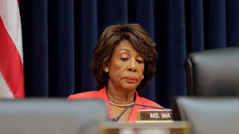 NYT: конгрессмена Уотерс ошеломило «вмешательство» RT в её речь