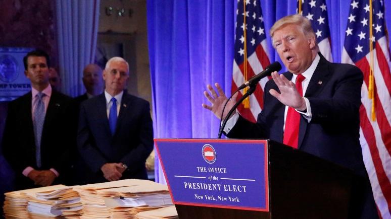 NI: Трамп намерен избавить Америку от мании вмешательства
