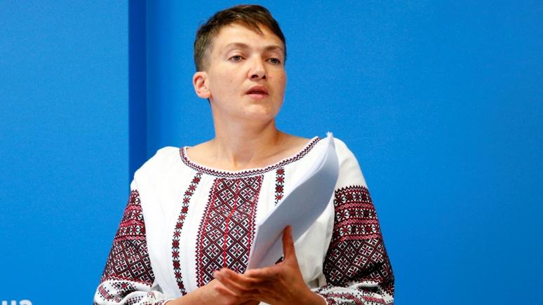 Савченко: вернуть Донбасс мирным путём Украина может, лишь «сдав на время Крым»