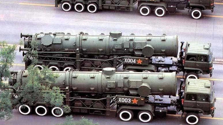 Global Times: Китай разместил ракеты у границ России — в ответ Трампу