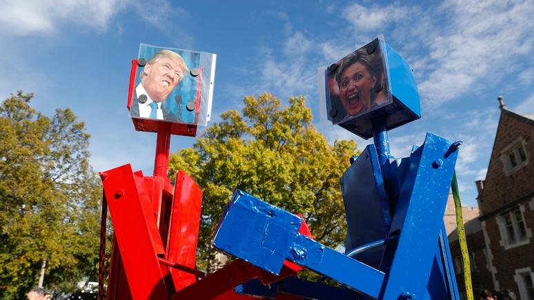 Die Zeit: робот стал бы лучшим президентом, чем Трамп