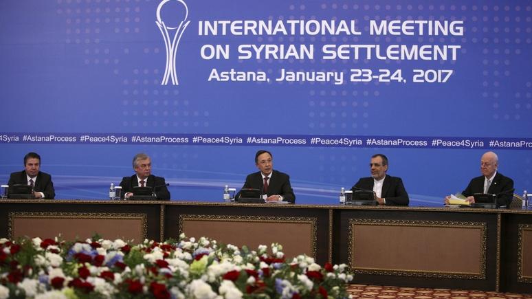 Times: за перемирие в Сирии поручились Россия, Турция и Иран