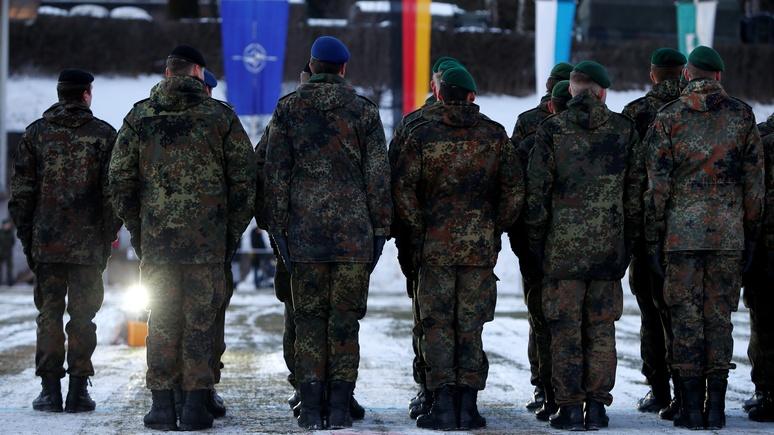 Das Erste: первые 17 немецких солдат приступили к защите Литвы от России