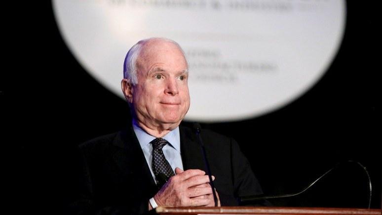 Еpoch Times: Маккейн пригрозил Трампу продлить санкции против России через сенат