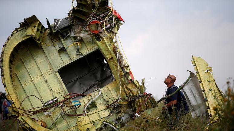 Kleine Zeitung: Нидерланды не смогли расшифровать данные по MH17 от России
