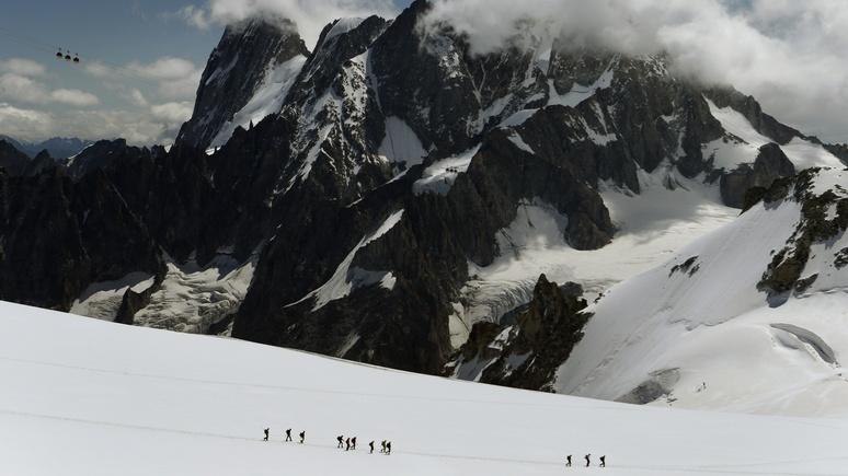 Le Dauphiné Libéré: на французском Монблане погиб российский лыжник