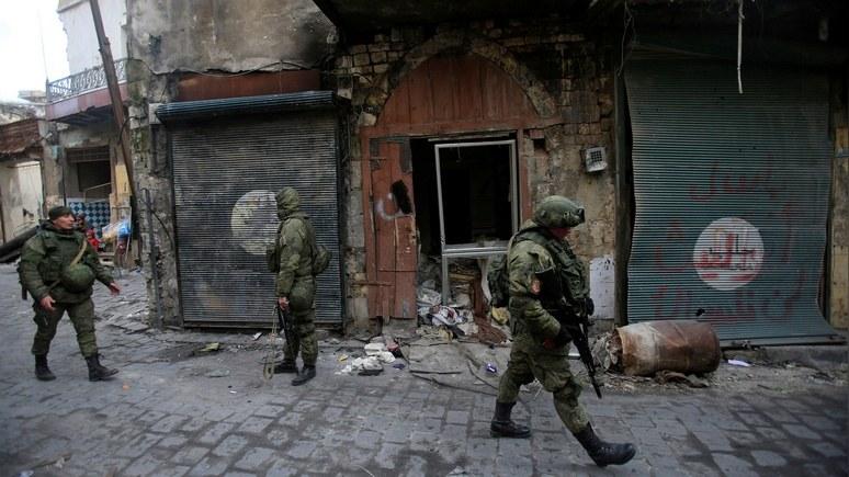 WSJ: Москва посылает в Алеппо чеченцев — «покорить умы и сердца сирийцев»