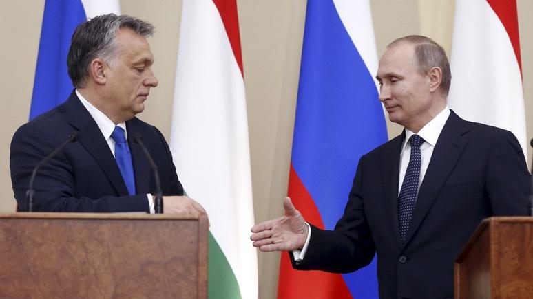 Politico: Путину нужна Венгрия, чтобы сломать «санкционную стену»