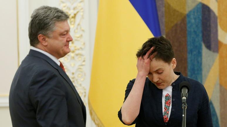 Украинская правда: Савченко назвала Порошенко врагом народа