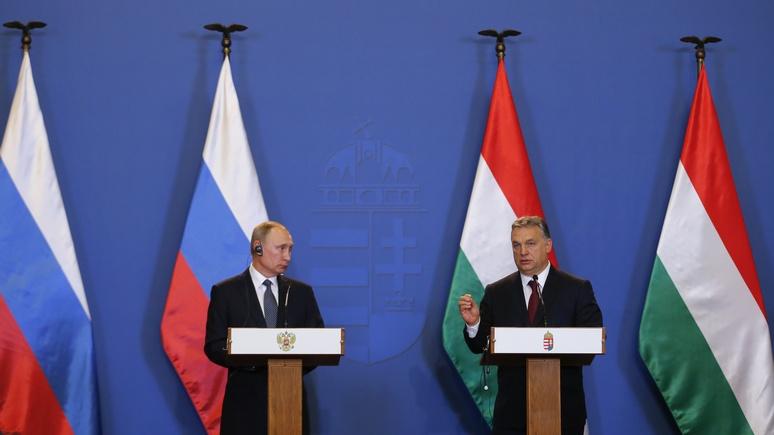 Financial Times: Путин «обхаживает» Венгрию, чтобы расколоть Запад