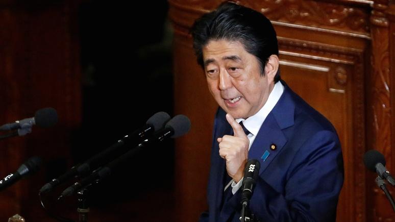 JT: ради мира с Россией Абэ призвал японцев смотреть в будущее, а не жить прошлым