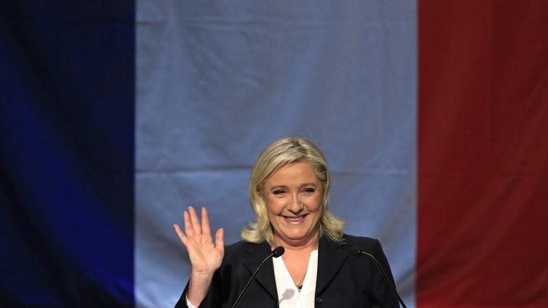 Daily Beast предсказал победу на выборах «путинской фаворитке» Ле Пен