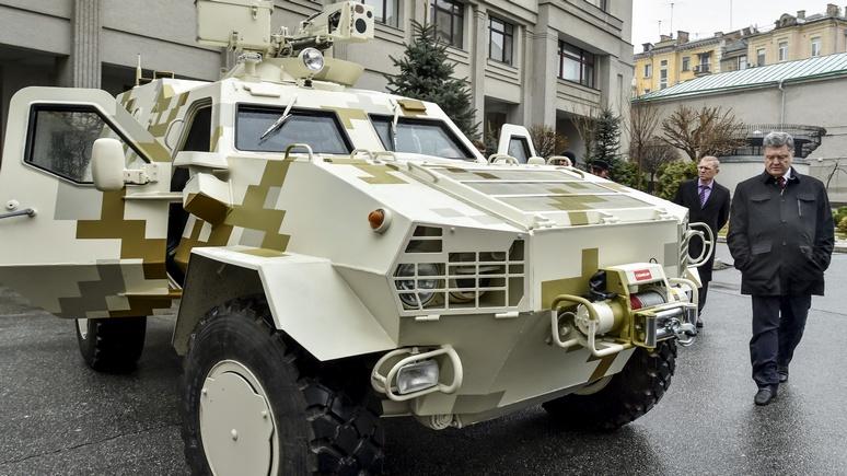 Корреспондент: Киев покупает двигатели для БТР у России